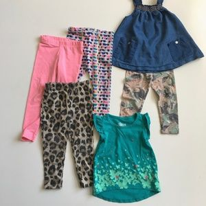 Bundle of Little Girls Clothes 2T/24 months